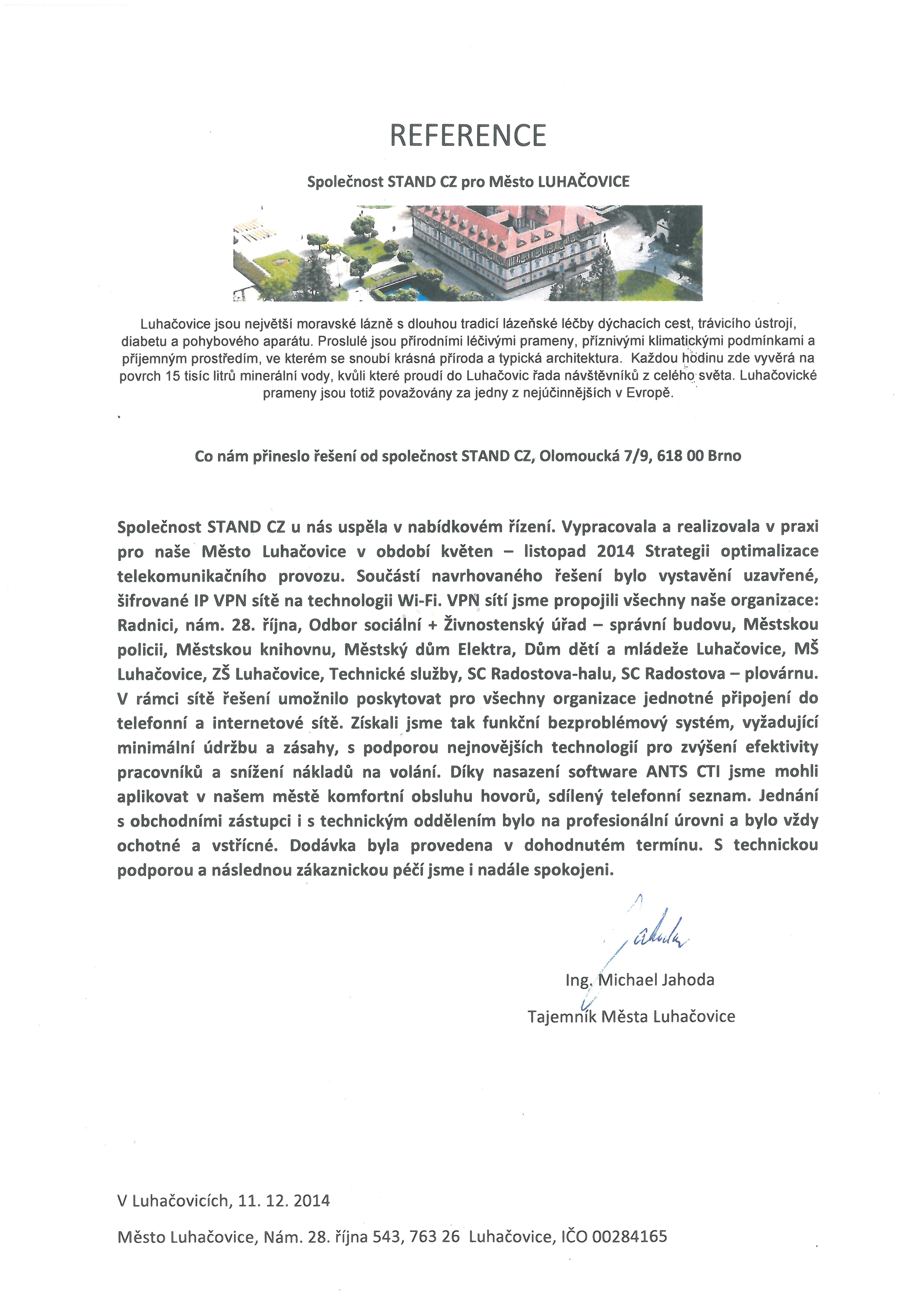 Město Luhačovice