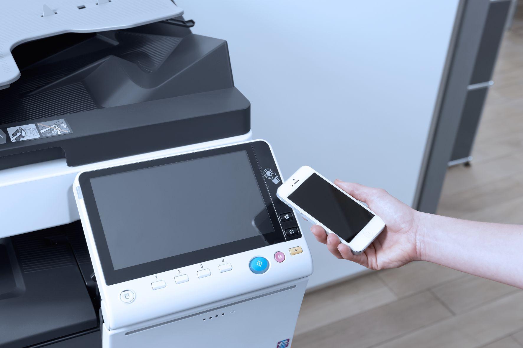 NFC: Snadný mobilní tisk iautentizace