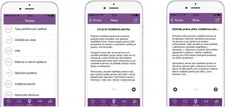 Aplikace Firemní vzdělávání Fusio