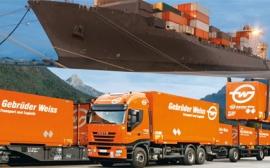 Software pro logistiku ve společnosti Gebrüder Weiss