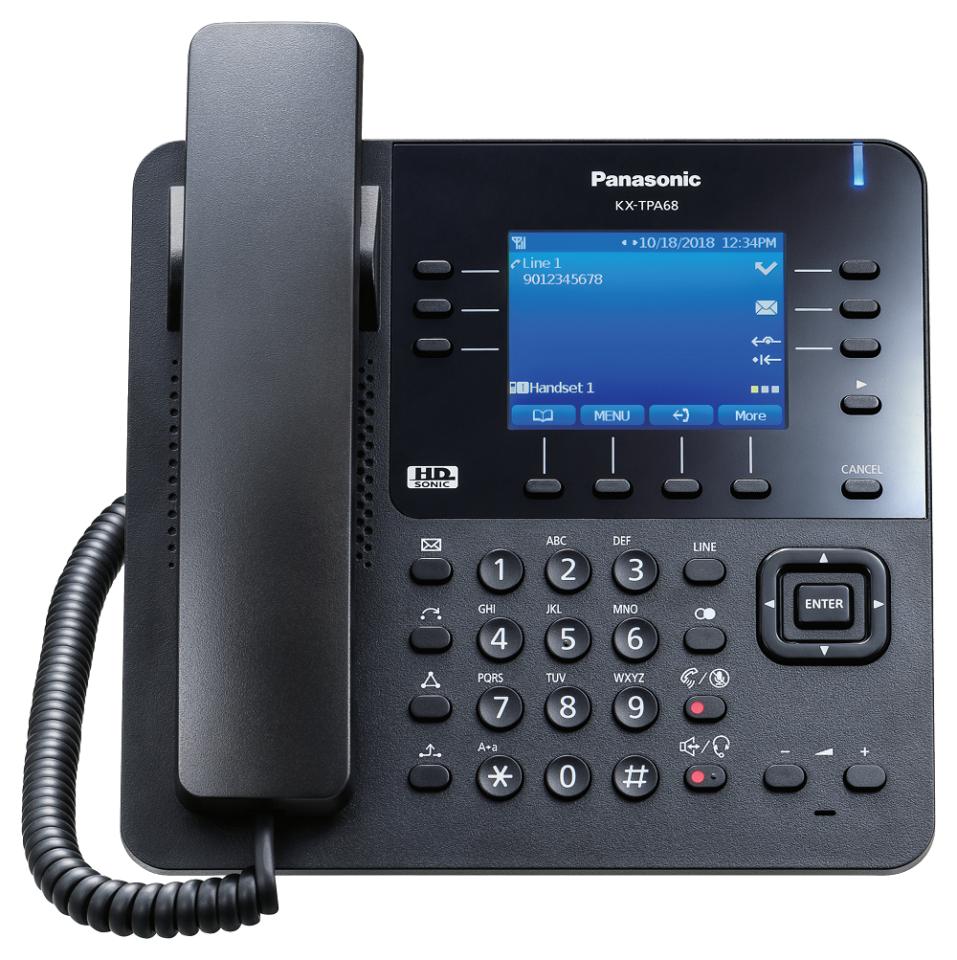 SIP bezdrátový stolní telefon Panasonic KX-TPA68