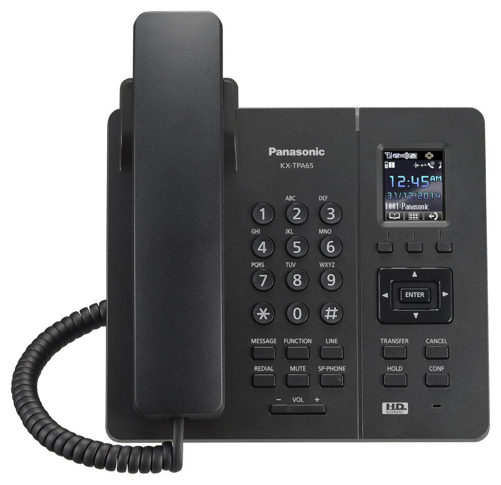 SIP bezdrátový stolní telefon Panasonic KX-TPA65